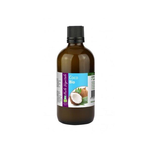 Økologisk Kokosnøddeolie - 100 ml.
