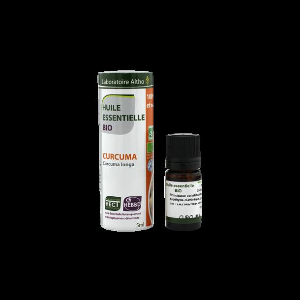 Økologisk Gurkemeje olie - 5 ml.
