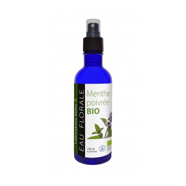 Økologisk Blomstervand – Pebermynte – 200 ml.