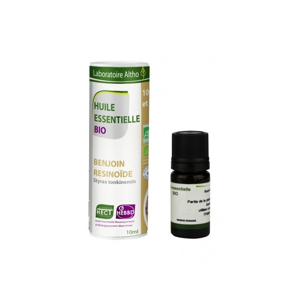Økologisk Benjoin/Benzoin olie – 10 ml.