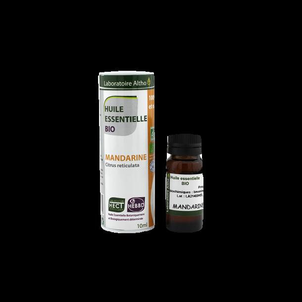 Økologisk Mandarin olie - 10 ml.