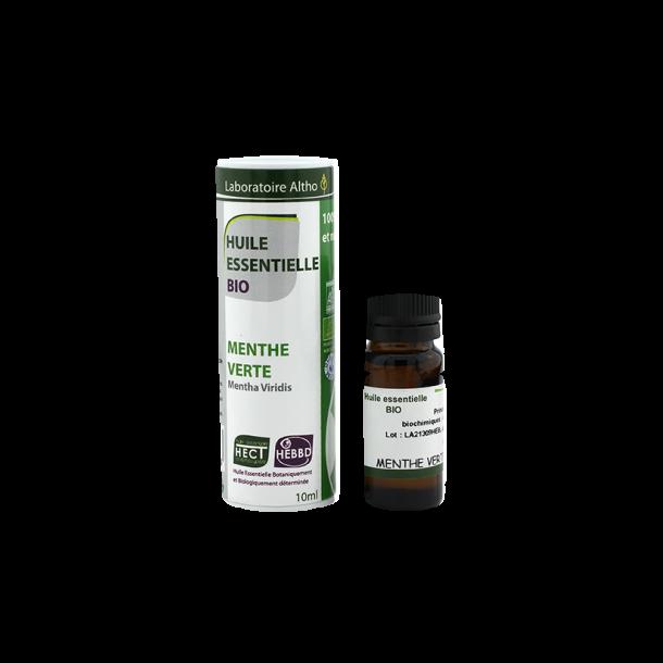 Økologisk Grøn Mynte/ Menthe Verte - 10 ml.