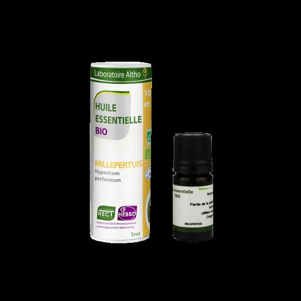 Økologisk Saint John's Urt olie - 5 ml.