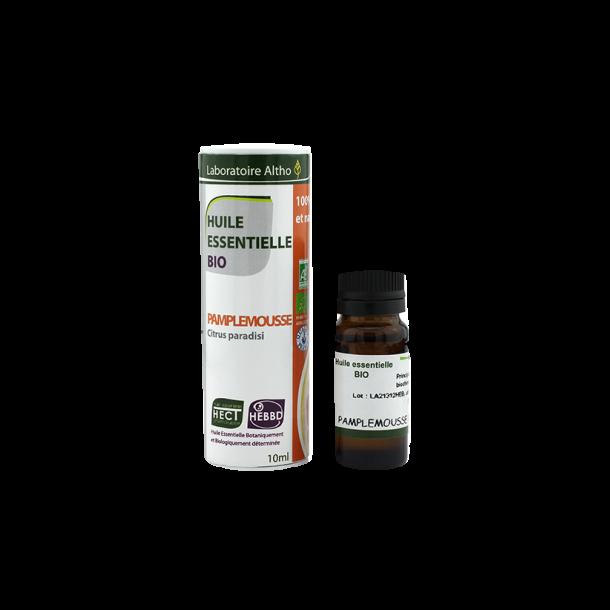 Økologisk Grapefrugt olie - 10 ml.