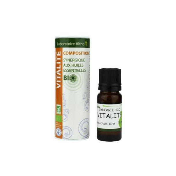 Økologisk æterisk olie Vitality Blend 10 ml.